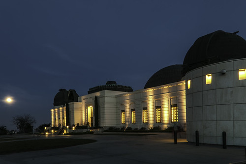 Full Moon at the Observatory