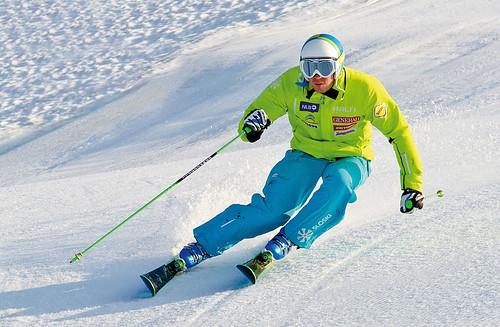 slovinský slalomář Mitja Valencic