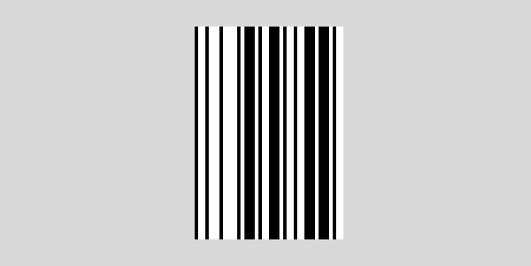 UPC bar code - the right section data bars