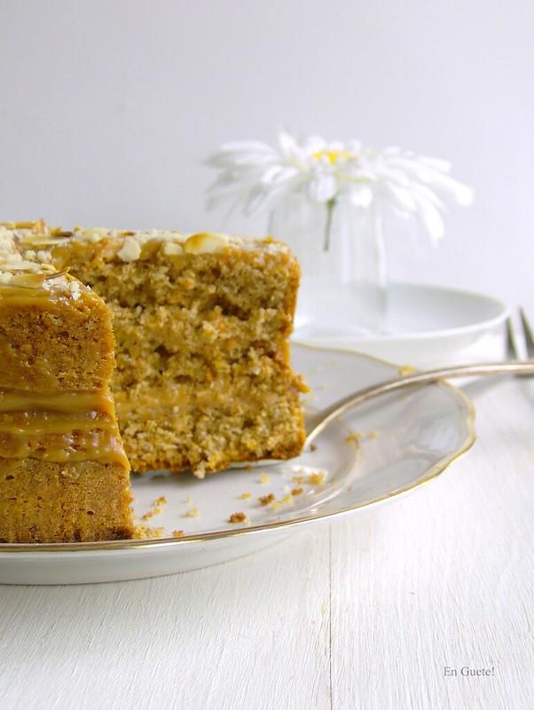 Torta de zanahoria {clásica}
