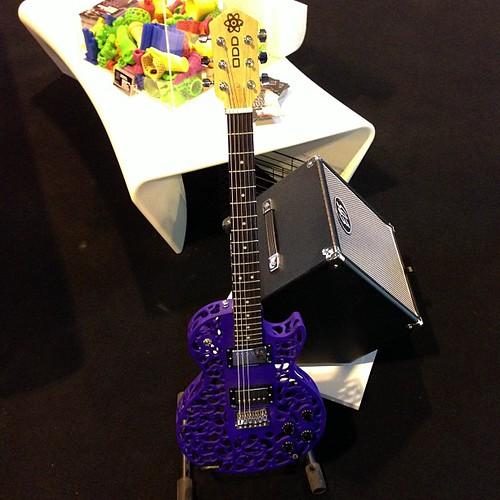 3d printed guitar #gsl2013