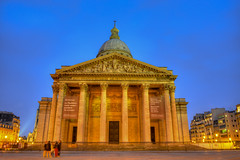 Panthéon in the evening