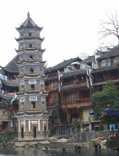 Hunan13-Fenghuang-Ville-Rive Sud (47)