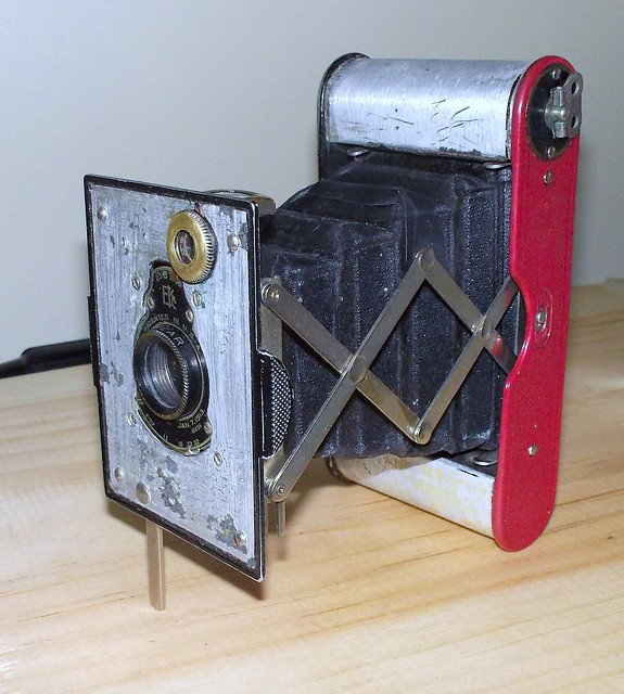 Kodak Vest Pocket Autographic - one working camera from three broken ones