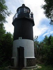 lighthouse, tower,