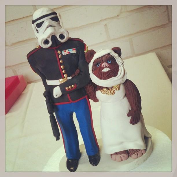 Ewok Cake Topper