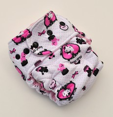 Bumstoppers One Size Hybrid Fitted Hello Kitty and friends Snap down or  Fold over Rise