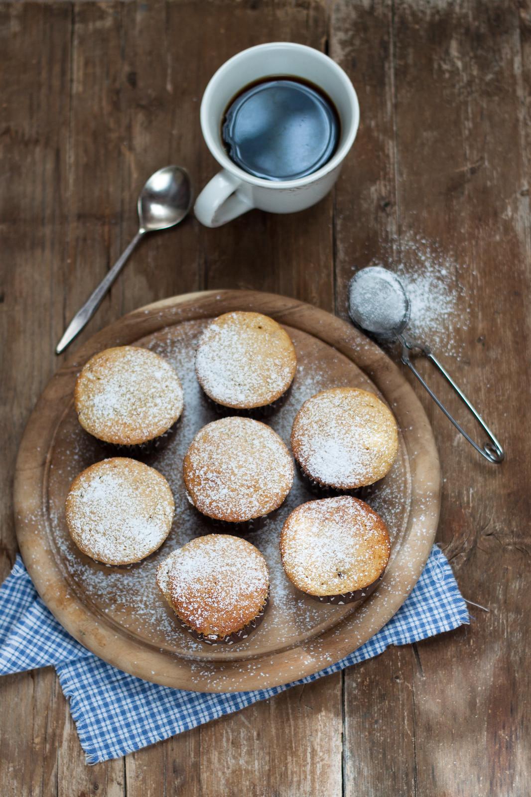 Muffin di farro e avena