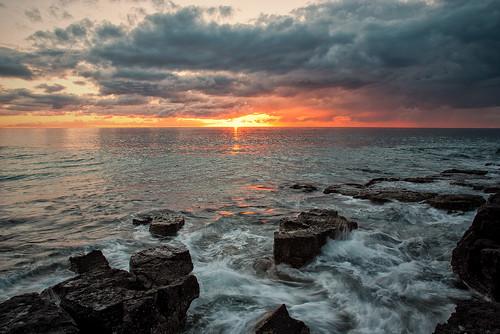 ocean sunrise pentax steev shellharbour k200d steveselbyphotography