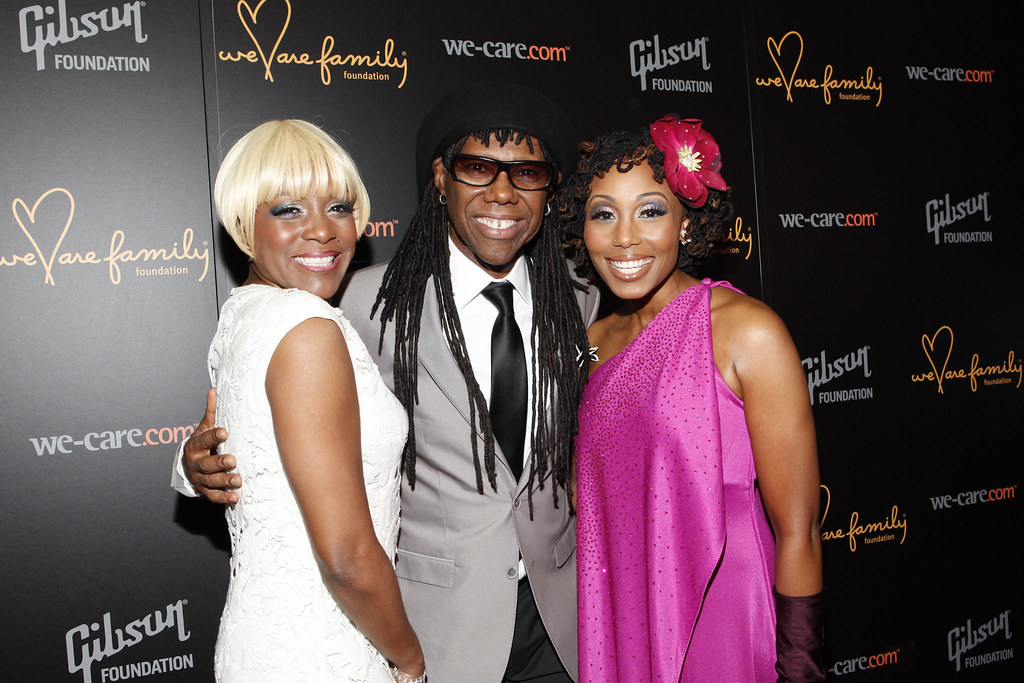 Nile Rodgers Chic Nile Rodgers And Chic Vocalists Kimbe Flickr