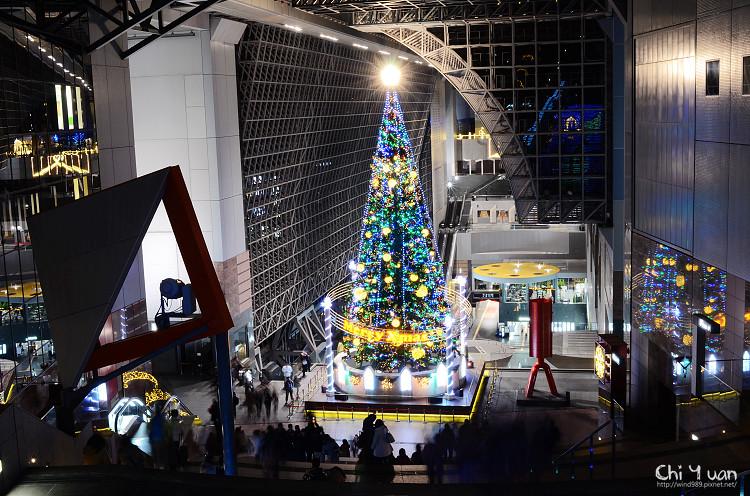 京都車站聖誕樹01.jpg