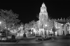 Disney Carthay Circle B&W