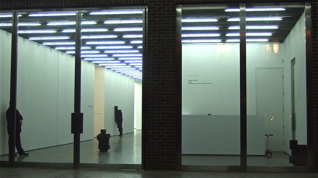 gormley at white cube bermondsey 2013