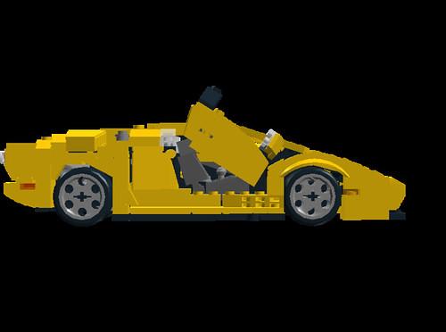 Lamborghini Diablo VT 6.0 door