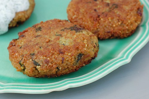 ... quinoa so that I can make these truly delicious quinoa cakes the next