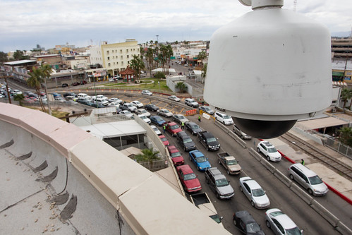 Surveillance Camera at Calexico Port of Entry