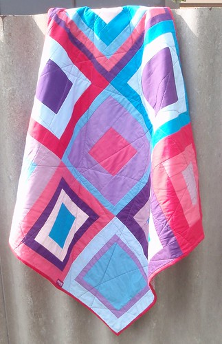 QUILT - Three Squared (hanging)