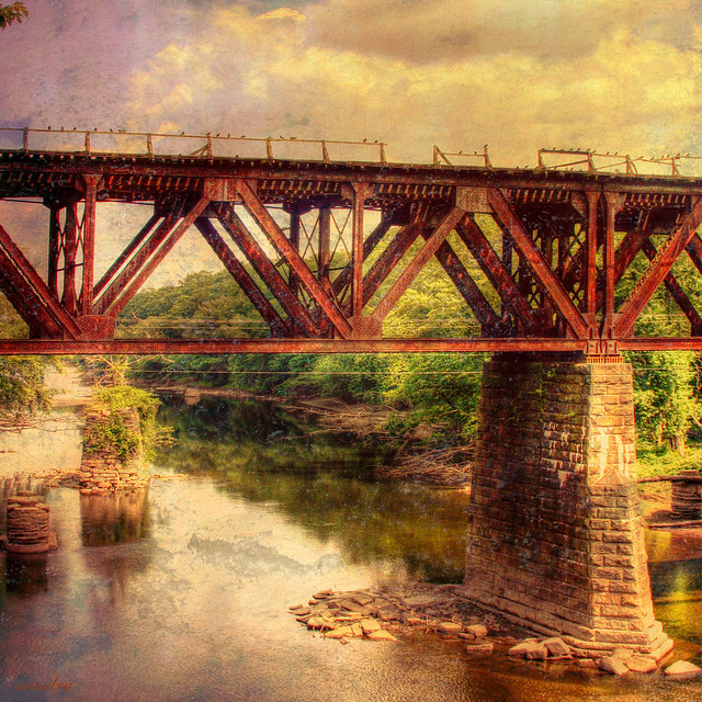 --rusted trestle--
