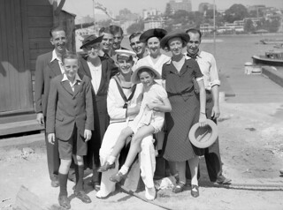 A sailor with his family