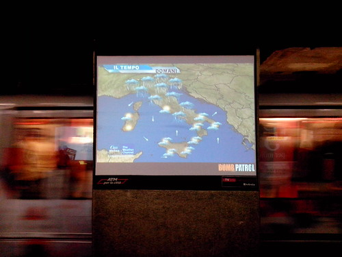 Previsioni del Meteo in Metro by Ylbert Durishti
