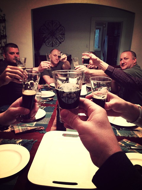 Toasting our trip through the 06-12 @stonebrewingco Vertical Epics