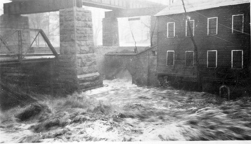 Alans_Bridge_Flood_1929 by Guelph Public Library