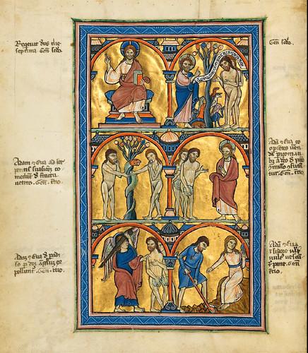 002-Salterio dorado de Múnich-1200-1225 d.C- Biblioteca Estatal de Baviera (BSB)