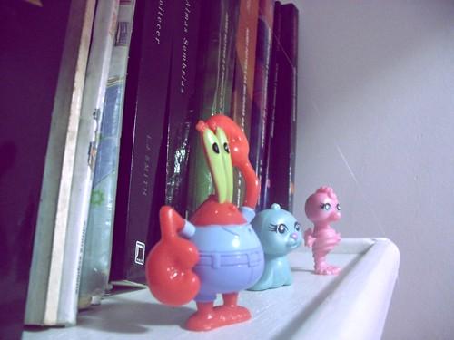 15 of 365 | Bichinhos da minha estante