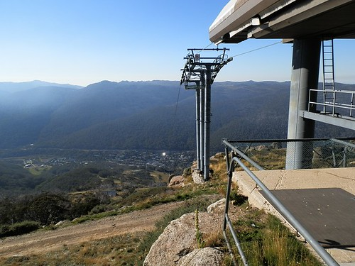 Top of Kosciuszko Express Chairlift