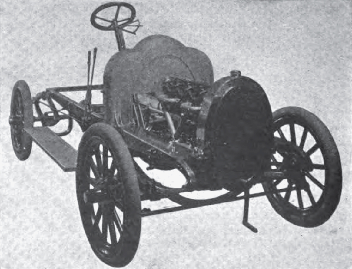 1906 Ariel chassis