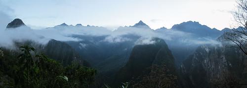 Machu Picchu: et on monte, et on monte les marches...