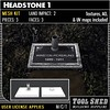 Tool Shed - Headstone 1 Mesh Kit Ad