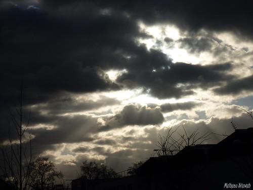 Ciel nuages nanterriens