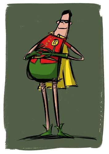 Robin by Stefan Marjoram