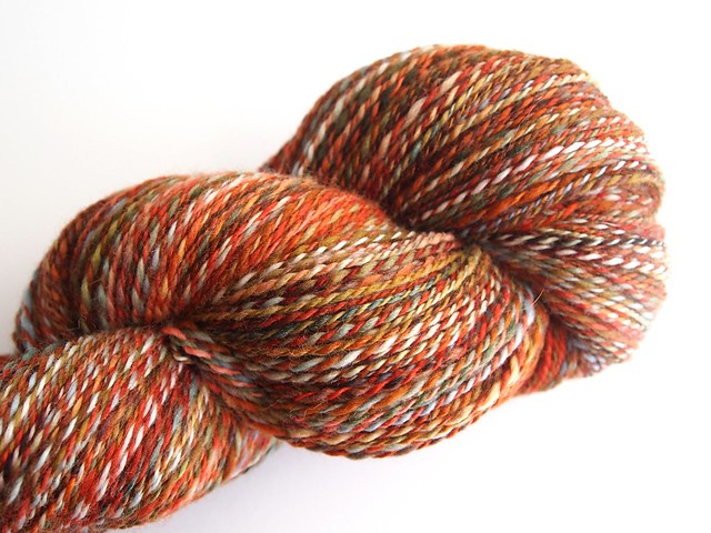 FCK-Fiber Club October 2011-5oz Polwarth-Early American-2-ply-488yds