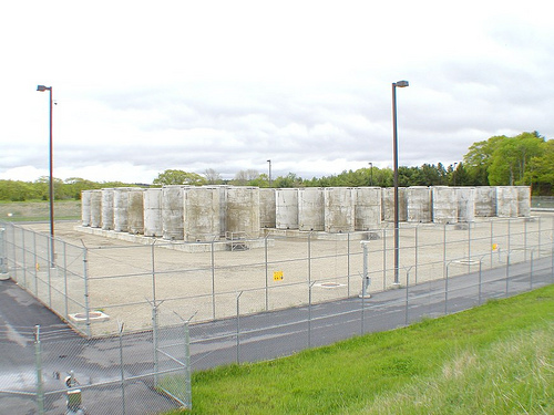 Maine Yankee storage installation