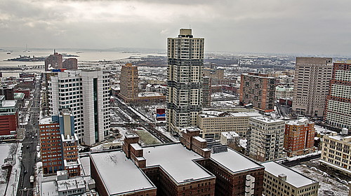winter panorama snow landscape jerseycity