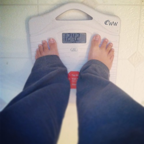 Starting weight 124... Goal weight 112. Hope to be down at least 6-8 in a week :)