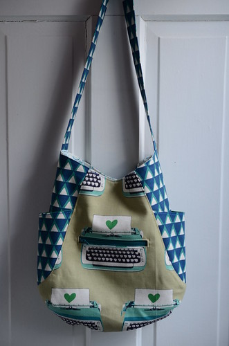 Typewriter 241 Bag by Poppyprint