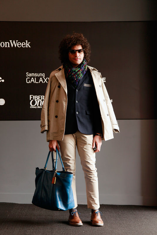 gianfranco_aw2013 men, street style, street fashion, Quick Shots, NYC, NYFW, MBFW