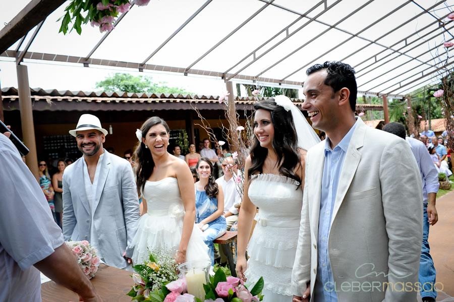 Janaina e Daniel Renza e Gustavo Casamento Duplo em Arujá Sitio 3 irmãos (57 de 195)