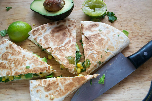 quesadillas sweetcorn avocado and spring onion-12