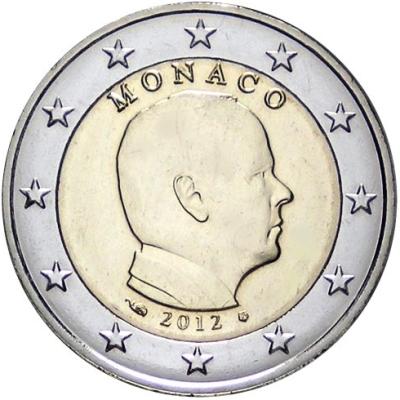 2 Euro Monako 2012