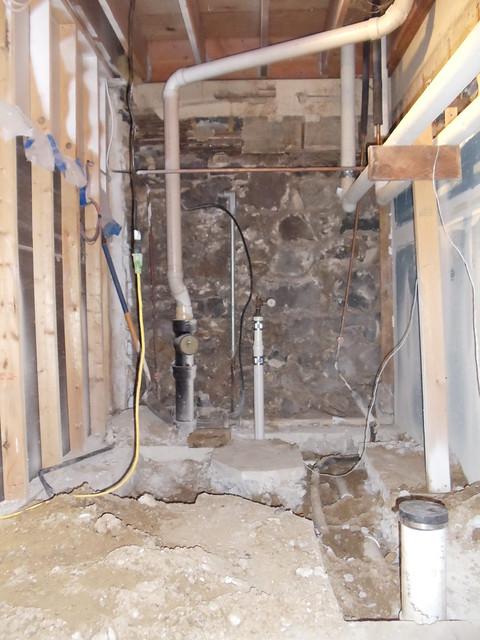 New Lower Level toilet room