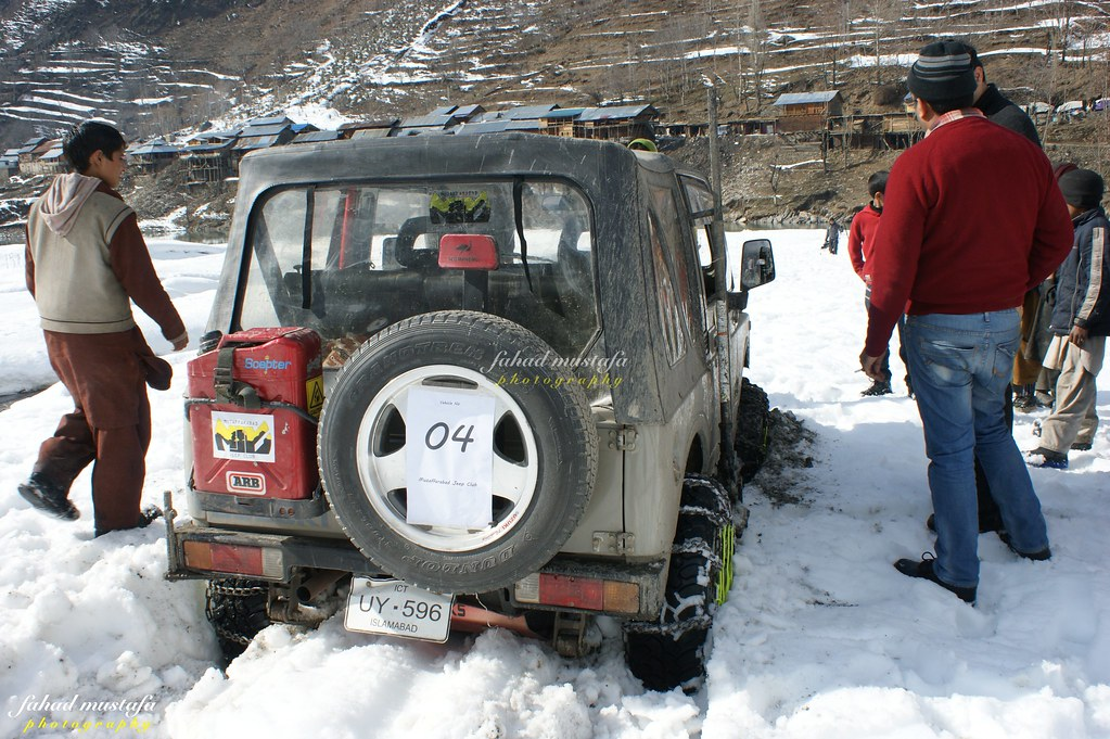 Muzaffarabad Jeep Club Neelum Snow Cross - 8472101712 935f334337 b