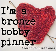 Bronze bobby pinner