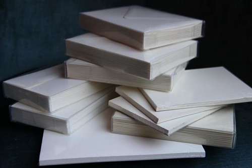 Paper Presentation cream paper