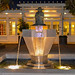 Lucasfilm at Night - The Yoda Fountain. by Doug Luberts