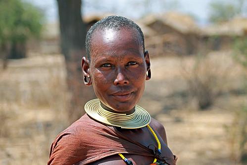 Barabaig Woman Mang'ati, Datooga Tanzania by Pius Mahimbi