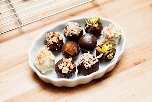 Homemade Confectionery Chocolate Truffles